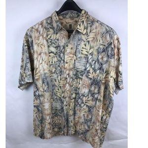 Tori Richard Mens 2XL B Hawaiian Aloha Shirt